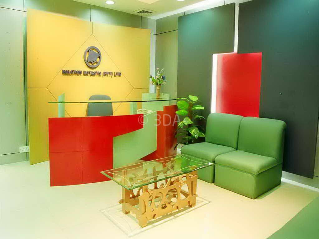 Best modern office reception design