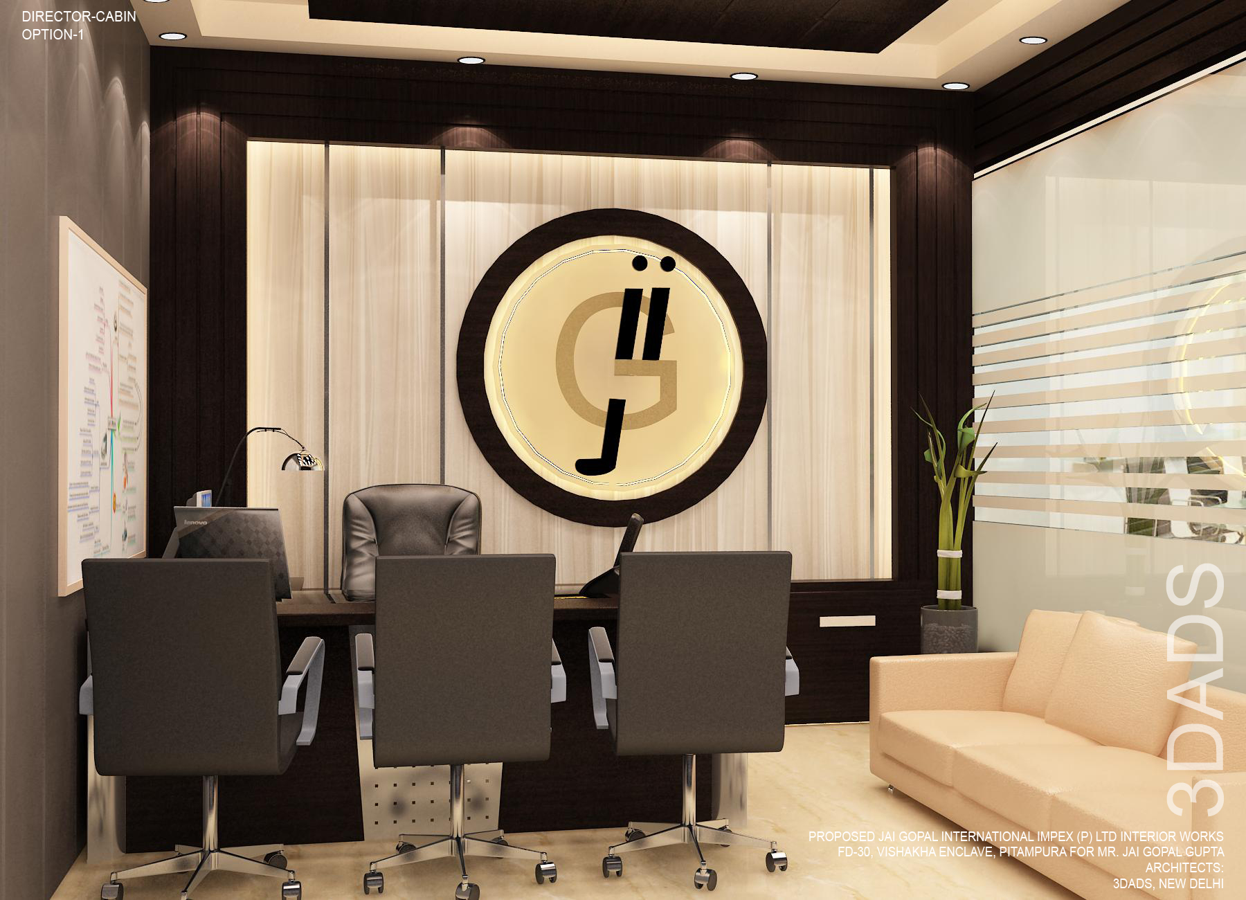 Best office Director cabin interior design