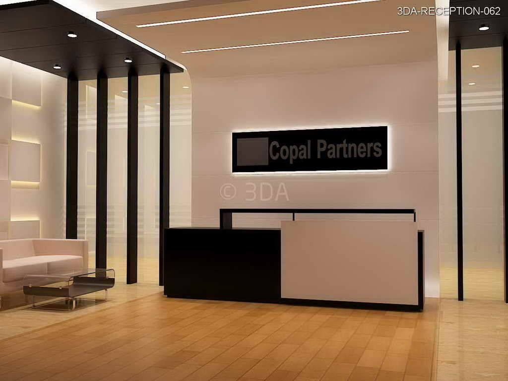 3DA : Office Reception Interior Design