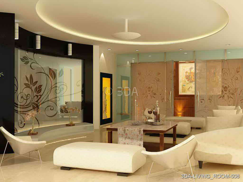 3da Best Living Room Interior Decorators In Delhi And