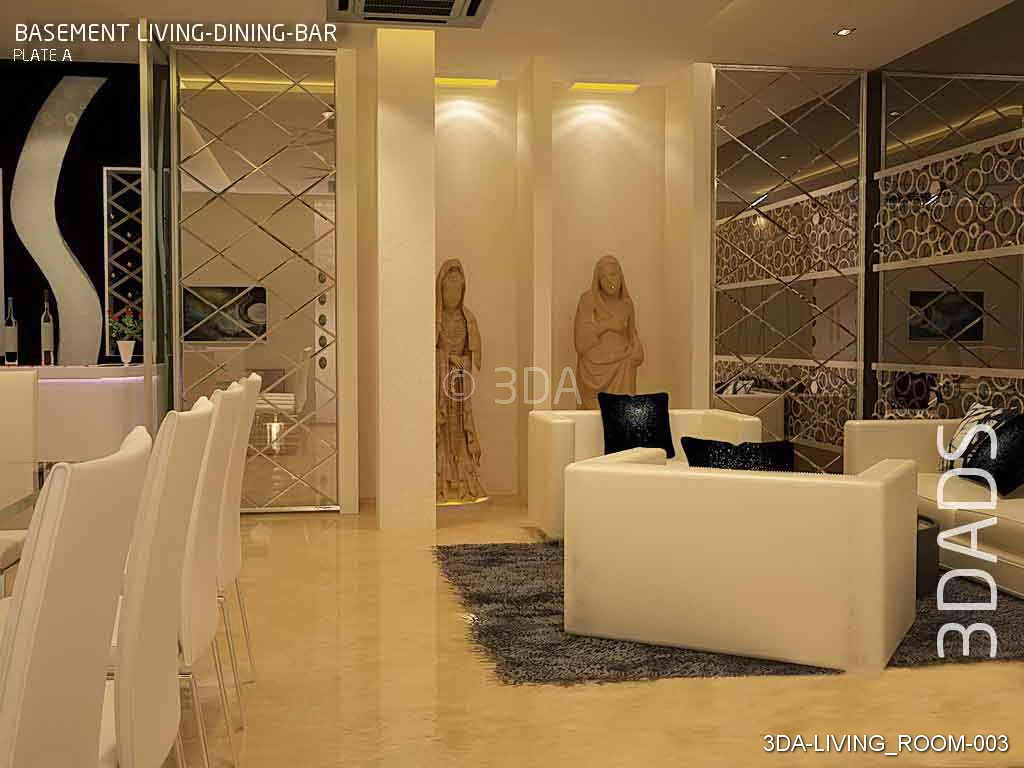 3da best living room interior decorators in delhi and for Best drawing room interior