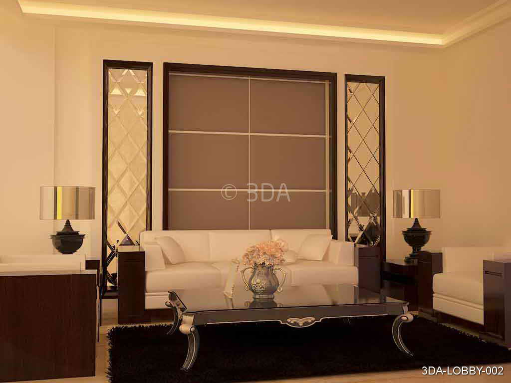 3DA :- Best Lobby interior Decorators in Delhi and Best
