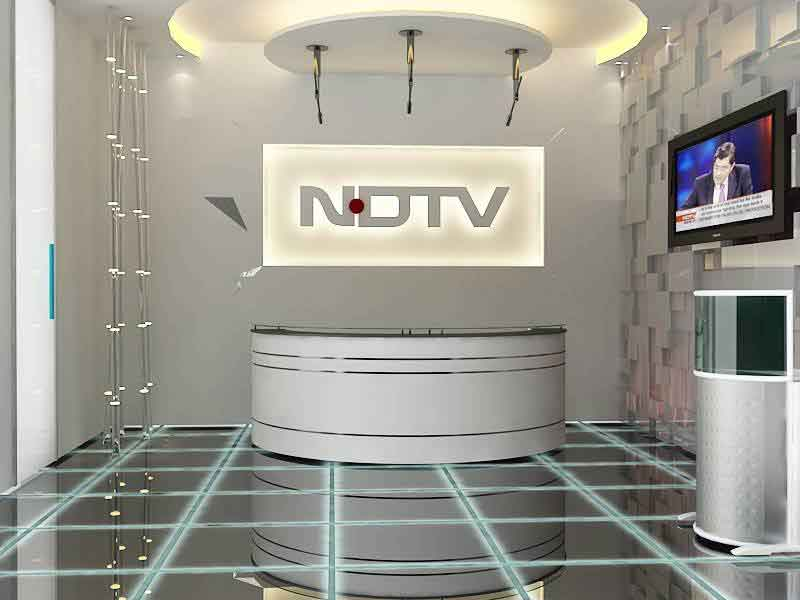 Post Modern Office NDTV Reception Cost Approx INR 1200 1500 Per SqFt